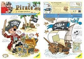 Amazon Com Funtosee Pirates Boys Nursery And Bedroom Wall Decals Priate Baby
