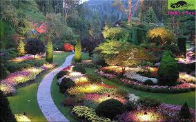 butchart gardens canada most famous