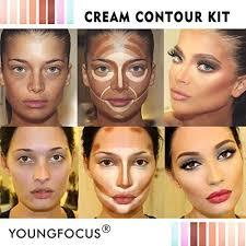 cream contour makeup palette kit