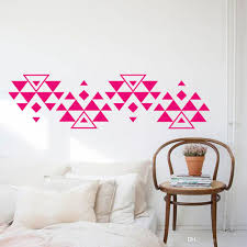 Boho Triangles Wall Sticker Southwest Vinyl Wall Decals Geometric Home Room Decal Triangle Sticker Geometric Wall Decor Wall Sticker Designs Wall Sticker For Kids From Joystickers 9 95 Dhgate Com