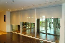 motorised roller blinds interior