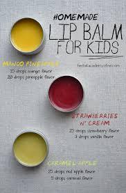 homemade and delicious diy lip balm recipes