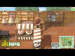 Acnh Bakery Study Room Bamboo Theme Design For Animal Crossing Island