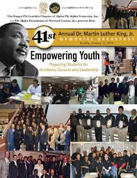 41st Annual Dr. Martin Luther King, Jr. Scholarship Breakfast by Kerry G.  Johnson - issuu