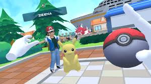 Watch: Fan-Made Pokemon VR Oculus Quest Game Is Buggy & Hilarious