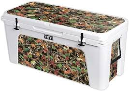 Amazon Com Mightyskins Cooler Not Included Skin Compatible With Yeti Tundra 160 Qt Cooler Buck Camo Protective Durable And Unique Vinyl Decal Wrap Cover Easy To Apply Made In The Usa