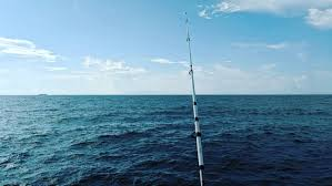 Free Images : ocean, alone, sunny day, blue sky, fishing rod, sea ...
