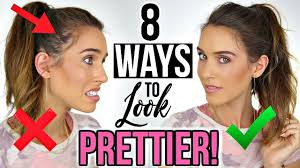 8 ways to instantly look prettier