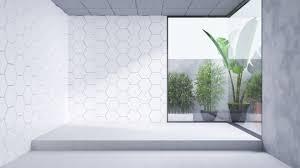 modern bathroom interior design empty