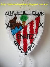 Pinata Del Escudo De Athletic Club De Bilbao Pinatas Pinata