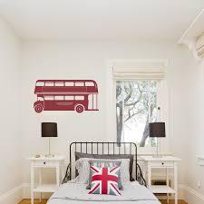 London Bus Wall Decal Double Decker Bus Wall Sticker