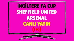 CANLI İZLE Sheffield United Arsenal TRT Spor canlı maç izle CANLI SKOR -  Tv100 Spor