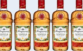 tanqueray gin made from seville oranges