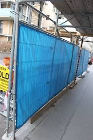 Heras Fencing Tarpaulin Covers Privacy Sheeting