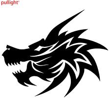 Car Window Decal Truck Outdoor Sticker Dragon Wicked Fire Cool Evil Car Stickers Aliexpress