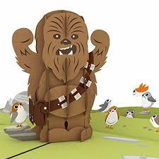 Star Wars Chewbacca Rarrrgghh Pop Up Tarjeta Tarjeta De 3d