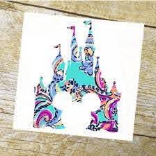Disney Castle Disney Castle Decal Disney Decal Disney Sticker Mickey Decal Disney Ears Disney Deca Disney Decals Vinyl Window Decals Disney Sticker