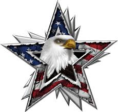 American Flag Eagle Star Decal Extra Large Trailer Wall Truck High Quality American Flag Eagle Patriotic Pictures American Flag