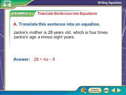 five minute check over lesson 4 5