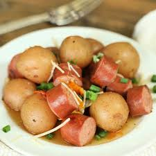 crock pot sausage and potatoes easy