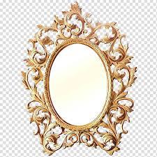 cartoon frames rococo mirror