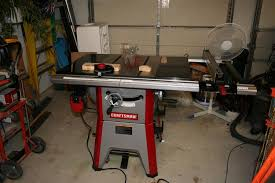 Review Craftsman 10 Contractor Table Saw Model 21833 Alignment By Smitty22 Lumberjocks Com Woodworking Community
