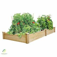 Greenes Fence Company Rc6t21b Cedar Raised Garden Bed Wood For Sale Online Ebay