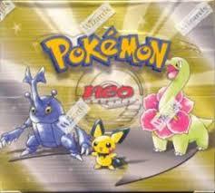 Pokemon Neo 1 Genesis Unlimited Booster Box