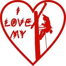 I Love My Lineman Electrician Heart Man Car Truck Window Vinyl Decal Sticker Car Stickers Aliexpress