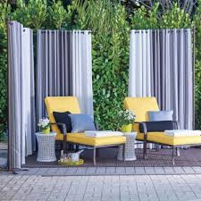 Our Freestanding Outdoor Curtain Rod With Posts Set Allows You To Easily Add Privacy To Any Outdoor Space Outdoor Curtains Outdoor Curtain Rods Outdoor Privacy