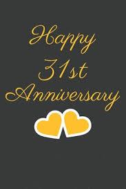 31st anniversary gift