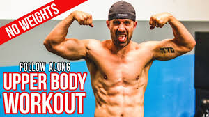 upper body workout without weights