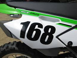 Number Decal Many Sizes Colors Dirt Bike Race Car Bmx Racing Tfb Designs