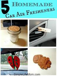5 homemade car air fresheners simple