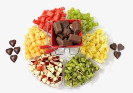 fondue magic fruit and dip gift
