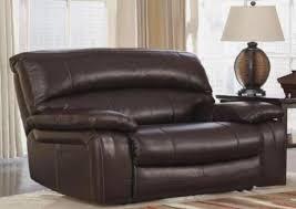 laredo leather oversized recliner