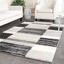 black light grey 5 ft x 8 ft area rug