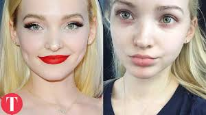 disney stars before and after makeup