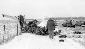 "Image result for ""The Big Bopper""   plane crash map"
