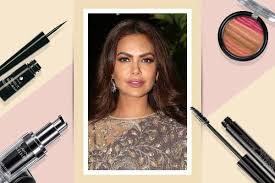 esha gupta s dramatic makeup look