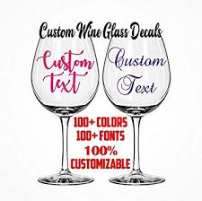 Amazon Com Celycasy Custom Wine Glass Decals Bachelorette Party Custom Decal Sticker Wedding Decals Tumbler Mug Decals Wine Tumbler Decal Champagne Flute Decals Baby