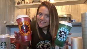 Diy Starbucks Decal Cups 2nd Day Of Christmas Youtube