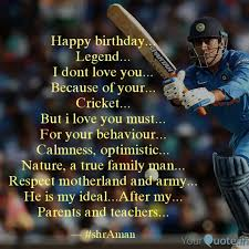 happy birthday legend quotes writings by aman