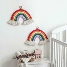 New Nordic Style Rainbow Decoration Baby Room Wall Hanging Kids Room Accessories Ebay