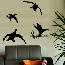 Ducks Flying 3 Wall Or Window Decal Etsy