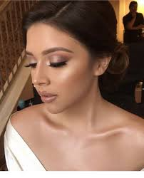 wedding makeup for brown eyes and brown