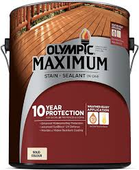 Olympic Maximum Stain Sealant In One Solid Color