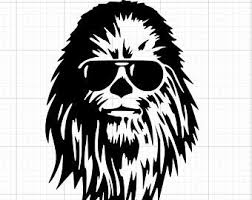 Chewbacca Decal Etsy