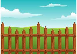 Wooden Picket Fence Vector Download Free Vectors Clipart Graphics Vector Art