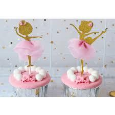 12 Uds Oro Brillo Torta Inserto Bailarina Baile Cupcake Toppers Elige La Torta Para La Boda Nupcial Fiesta De Cumpleanos Aliexpress
